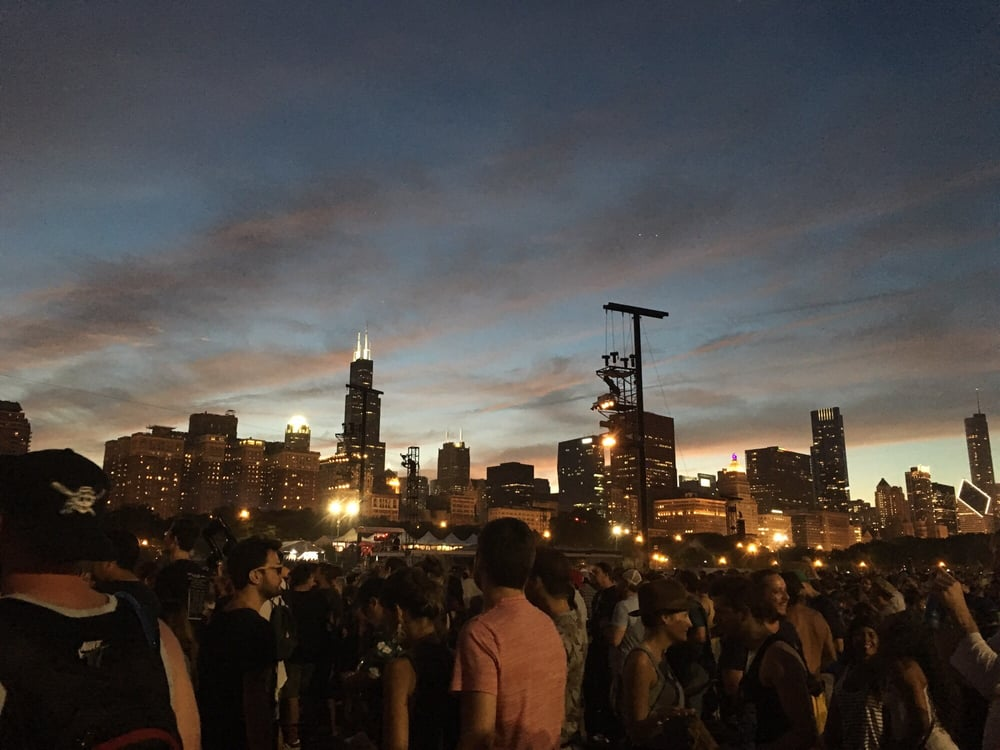Lollapalooza: 300 E Congress Pkwy, Chicago, IL