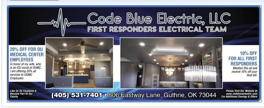 Code Blue Electric Services: Guthrie, OK