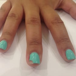 Asian nail technician suggest you