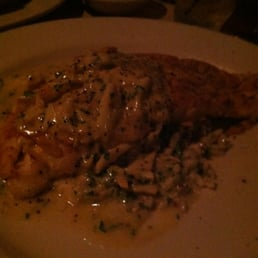 Louie's On The Avenue - Pearl River, NY, United States. Red snapper,