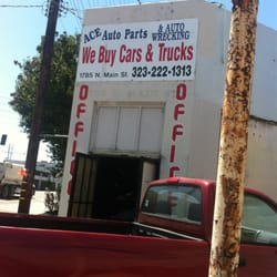 Ace Auto Wrecking Auto Parts Supplies 1785 N Main St Lincoln