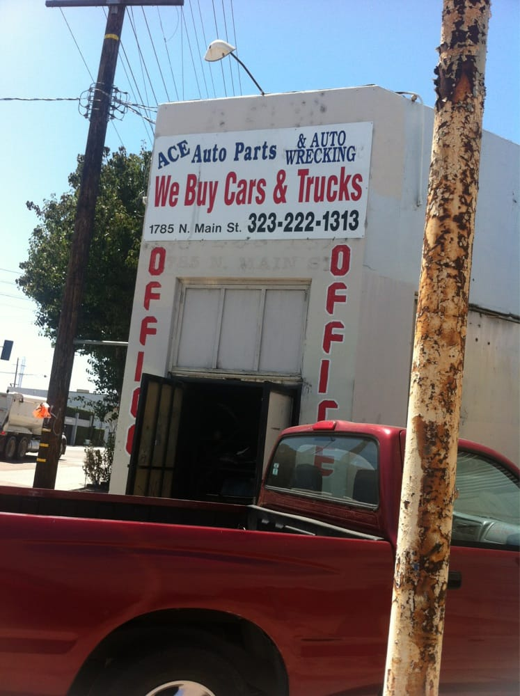 Ace Auto Wrecking - Auto Parts & Supplies - 1785 N Main St, Lincoln ...