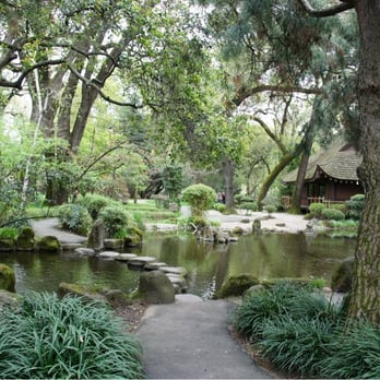 photo of japanese garden in micke grove park lodi ca united states