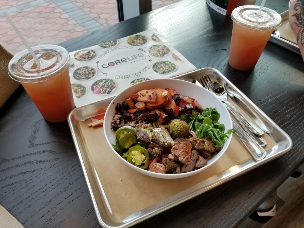 Food from CoreLife Eatery