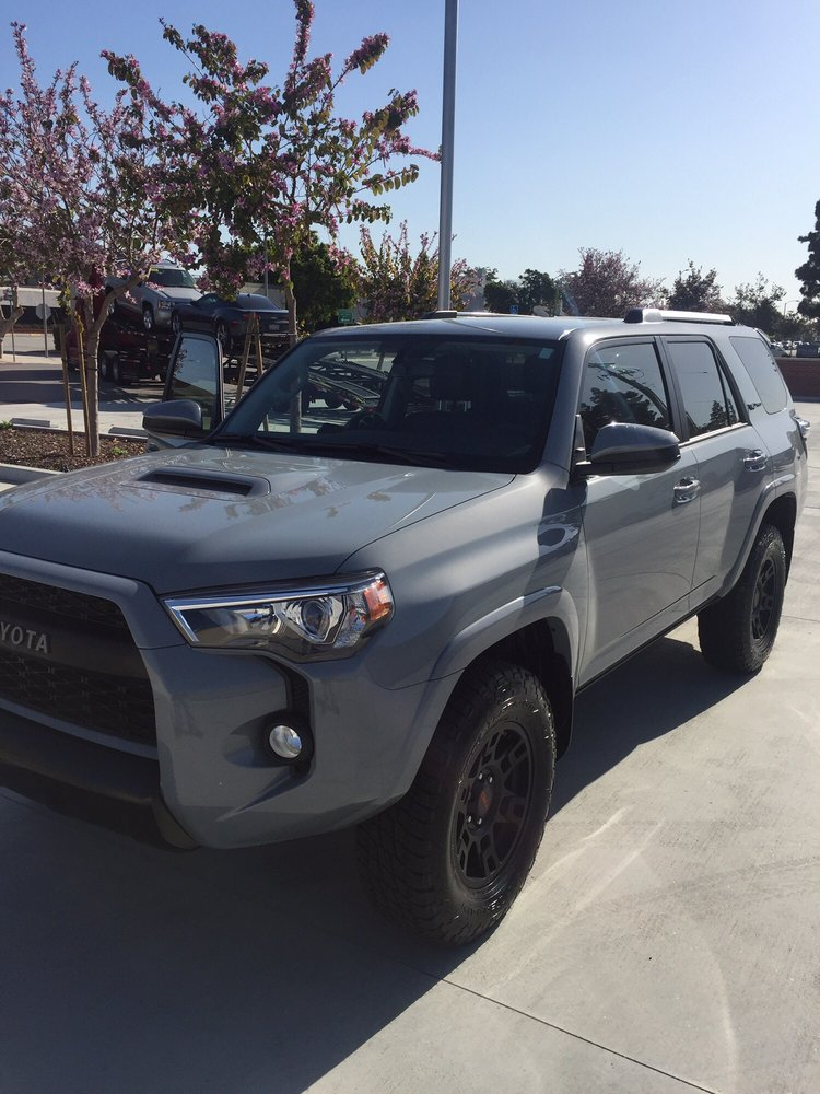 2017 toyota 4runner trd pro cement gray yelp. Black Bedroom Furniture Sets. Home Design Ideas