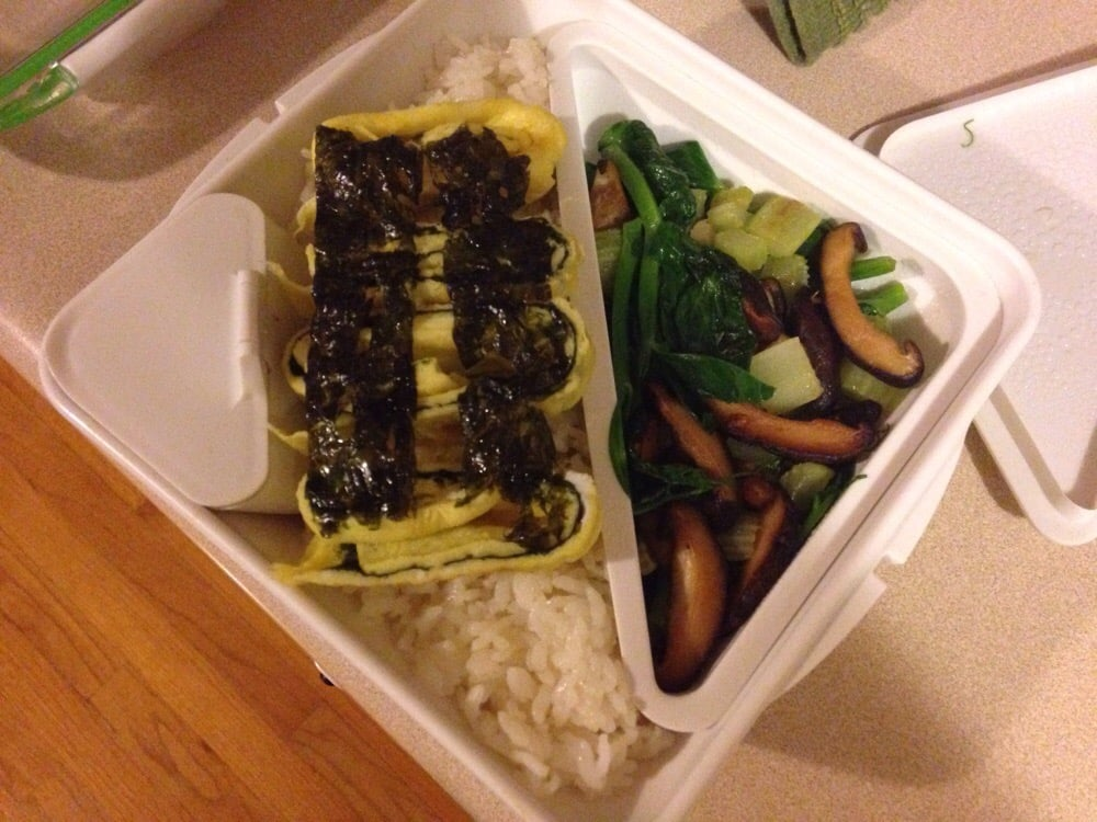 Food from Purple Rice