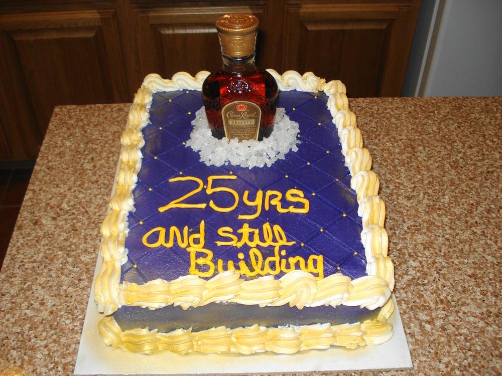 Crown Royal Anniversary Cake Yelp