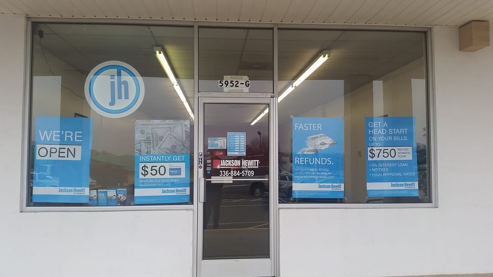 Our Jackson Hewitt at 5952 University Parkway across from Modern ...