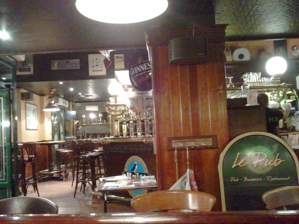 brasserie pub au bureau chiuso 41 recensioni bar. Black Bedroom Furniture Sets. Home Design Ideas
