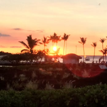 Photo Of Waikoloa Beach Marriott Sunset Luau Village Hi United States