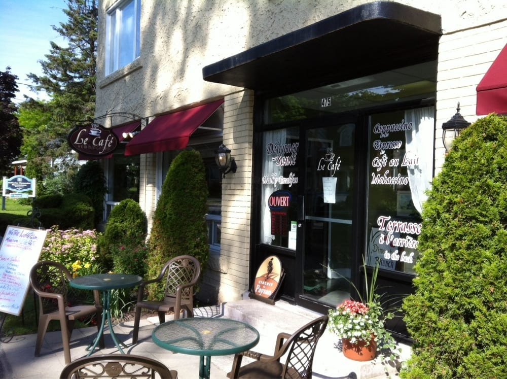 Cafe Hemmingford (Le): 475 Rue Frontiere, Hemmingford, QC