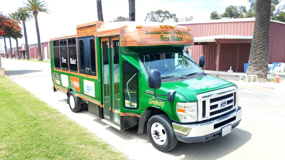 Downtown Ventura Harbor Trolley: 420 E Santa Clara St, Ventura, CA