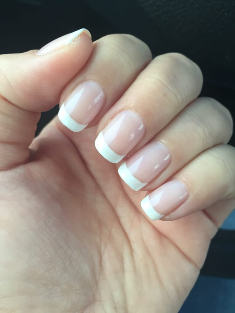 No chip, french manicure. - Yelp