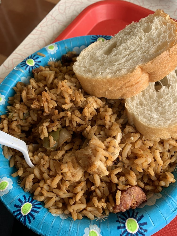 Food from Lil Cajun House