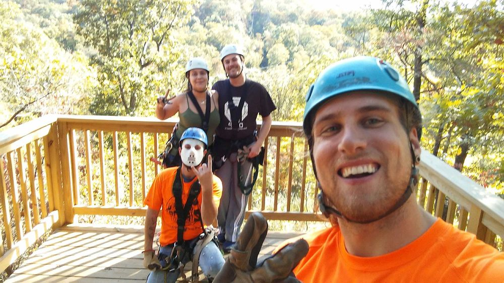 Grafton Zipline: 800 Timber Ridge Dr, Grafton, IL