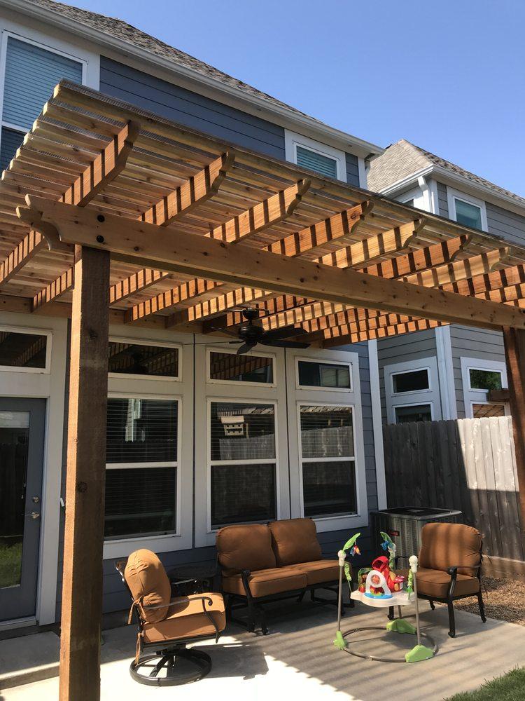 Pergola Builder Houston: 7951 Katy Fwy, Houston, TX