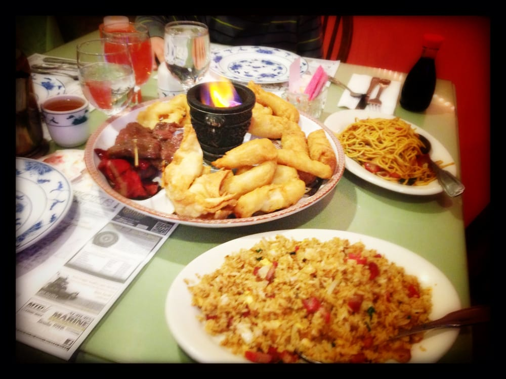 Pupu Chinese Food Menu