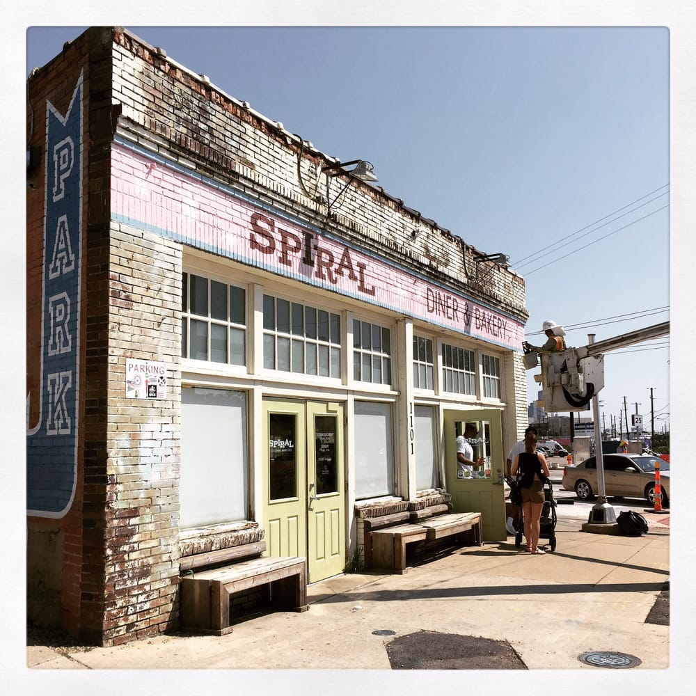 Photo of Spiral Diner & Bakery - Dallas, TX, United States. Stoked to be here!