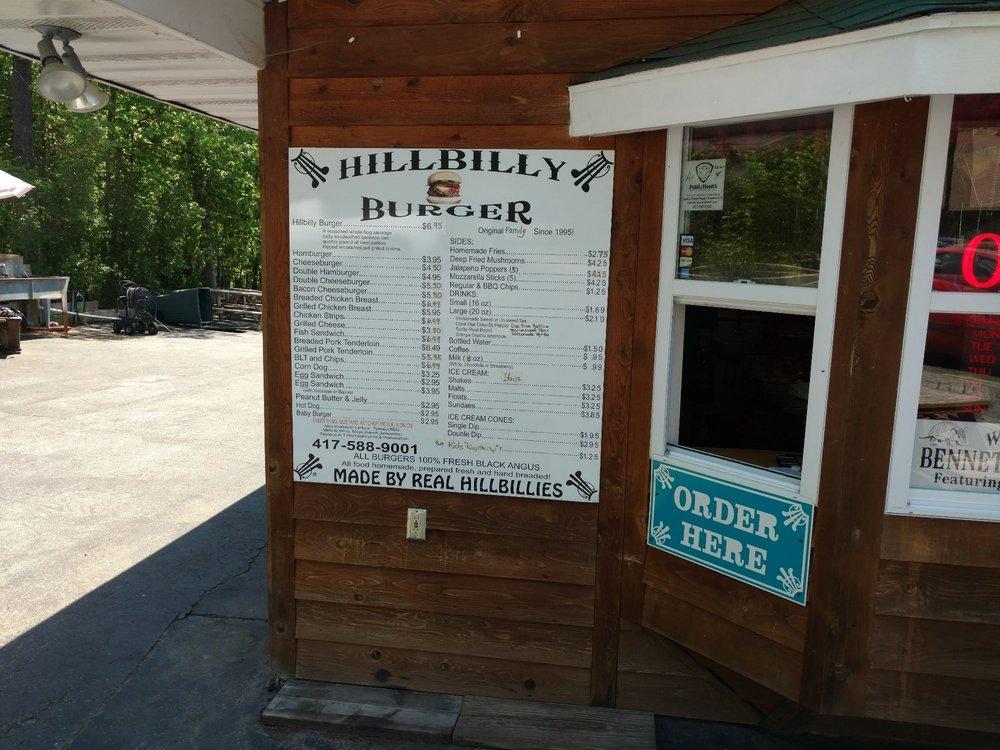 Hillbilly Burgers: 25970 State Hwy 64A, Lebanon, MO