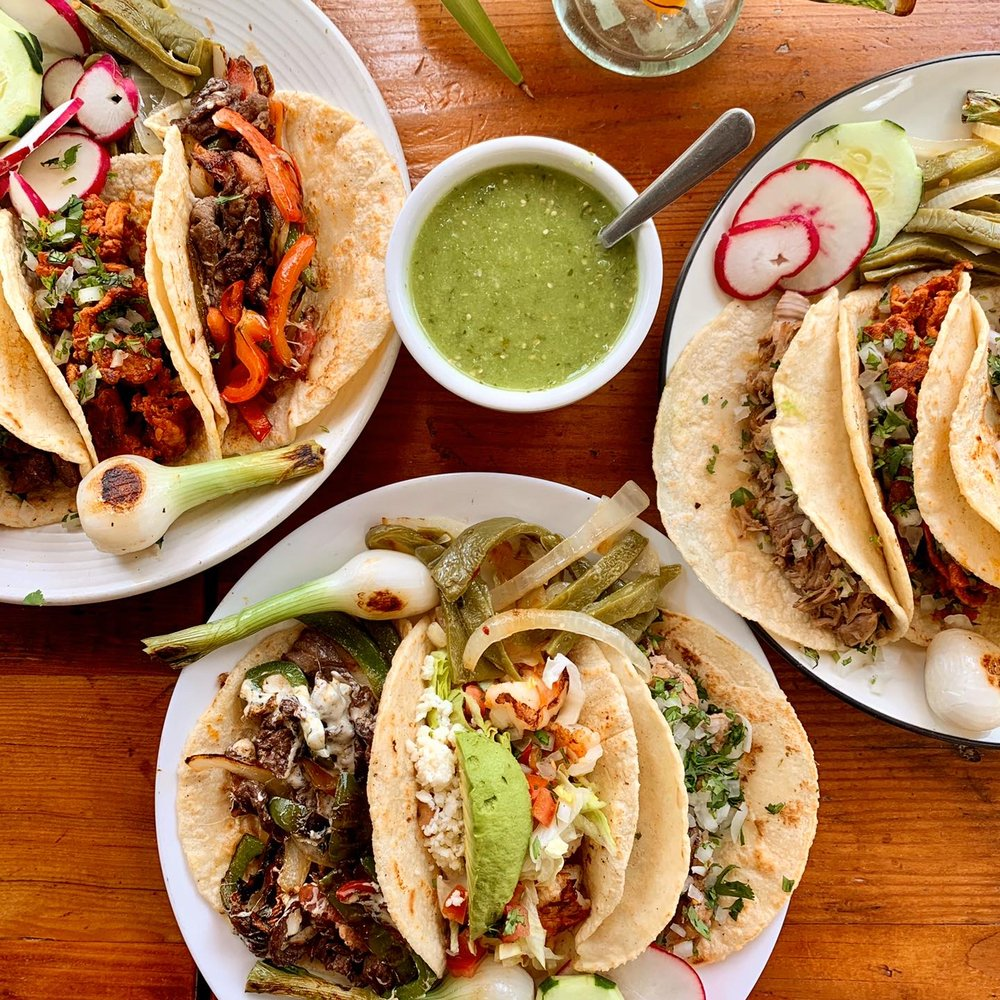Food from Taqueria Morales