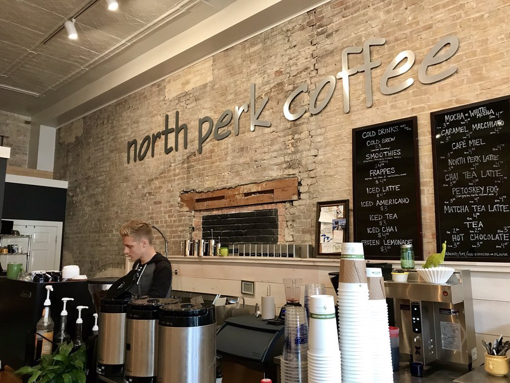 North Perk Coffee: 308 Howard St, Petoskey, MI