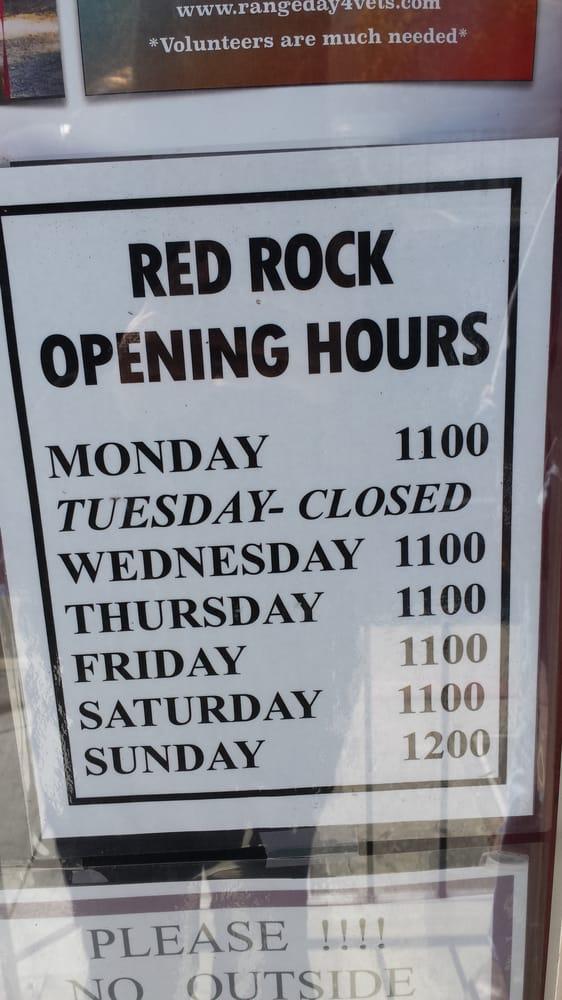Red Rock Cafe Napa Ca