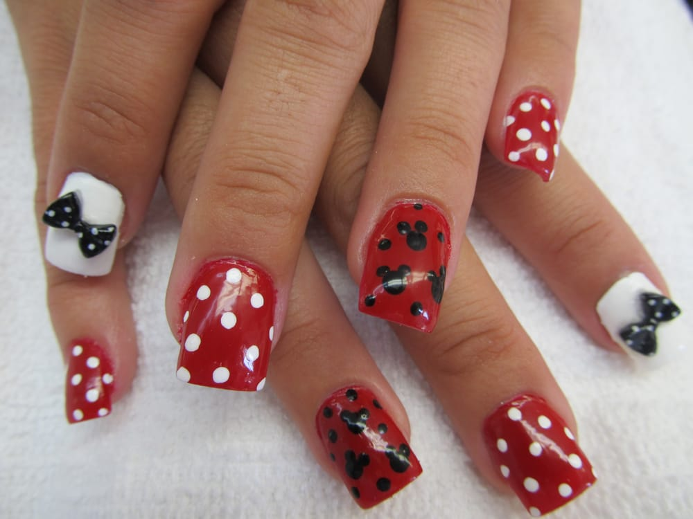 Mickey Mouse Nail Design Yelp