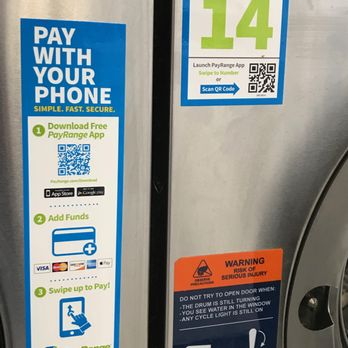 Machines also accept mobile payment with the PayRange app  - Yelp
