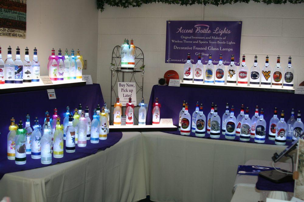 Accent Bottle Lights: 11961 Choctaw Trl, Conneaut Lake, PA