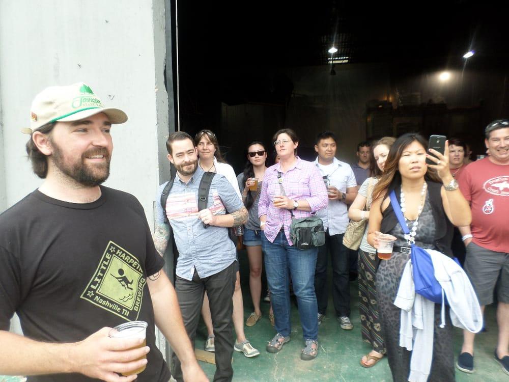 Yelp Spring Break Event: Nashville Brew Bus