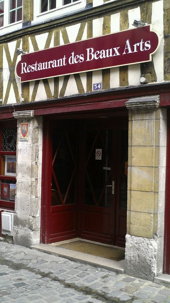 Restaurant Rue Damiette Rouen