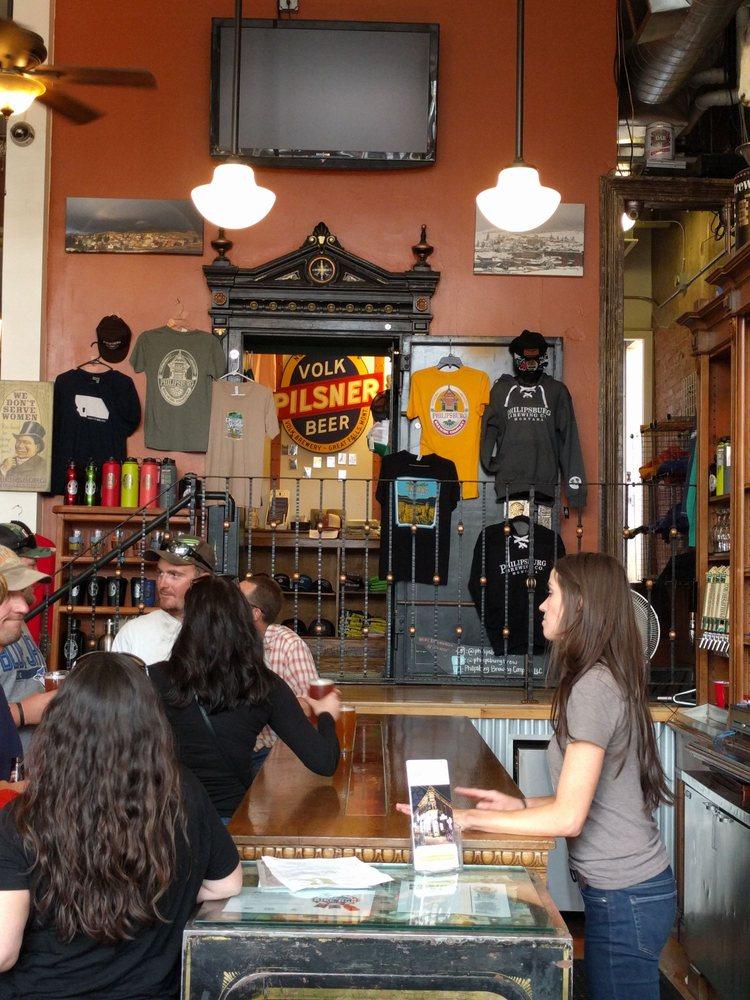 Philipsburg Brewing Company: 101 W Broadway, Philipsburg, MT
