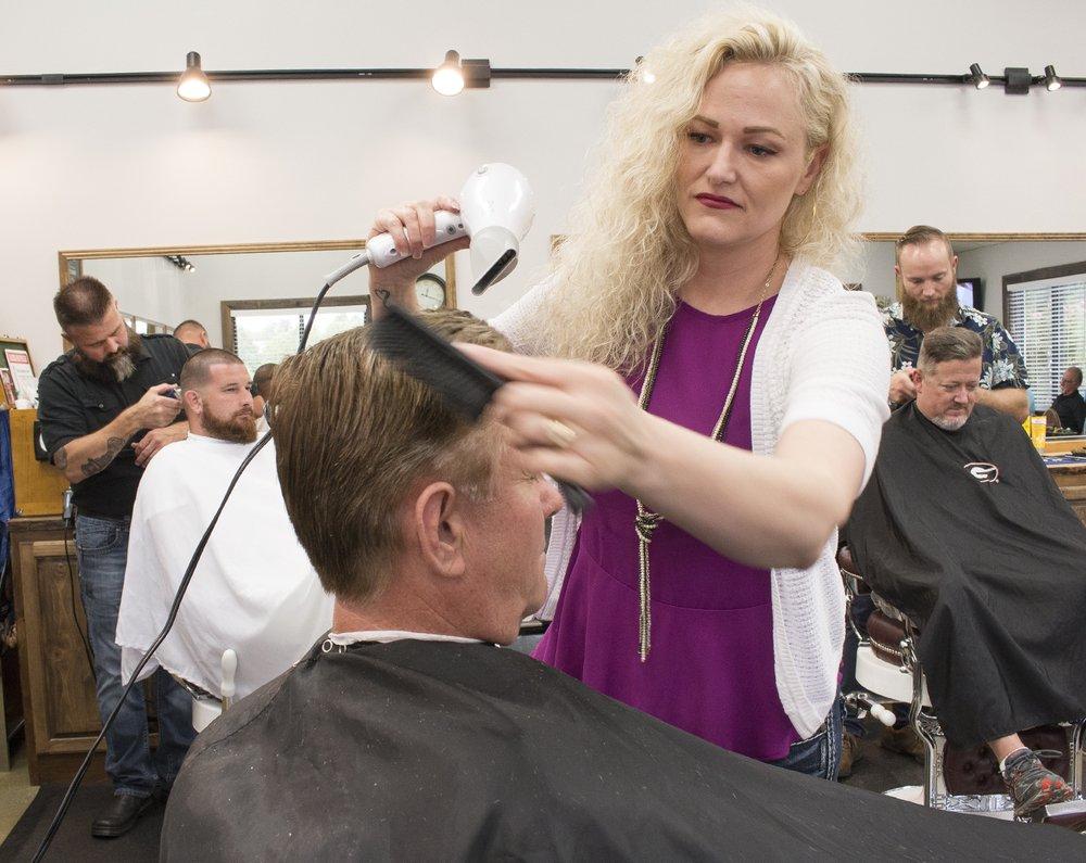 Blue Ridge Barber Shop: 40 E Main St, Blue Ridge, GA