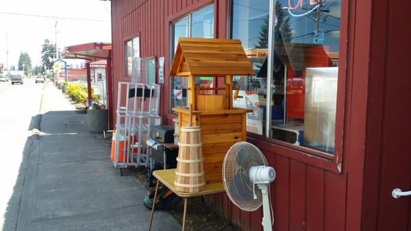 Photo Of Storage Auction Liquidators   Rainier, WA, United States. Small  Town Thrift