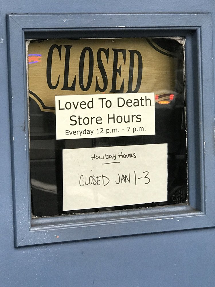 Loved To Death: 1681 Haight St, San Francisco, CA