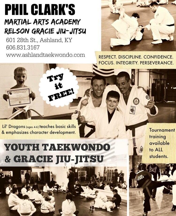 Phil Clark's Martial Arts Academy: 601 28th St, Ashland, KY