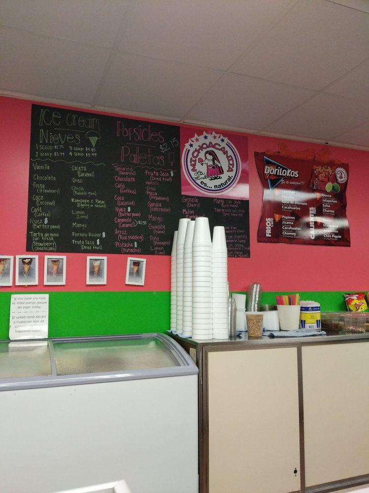 La michoacanita Ice Cream: 507 Main Ave SW, Cullman, AL