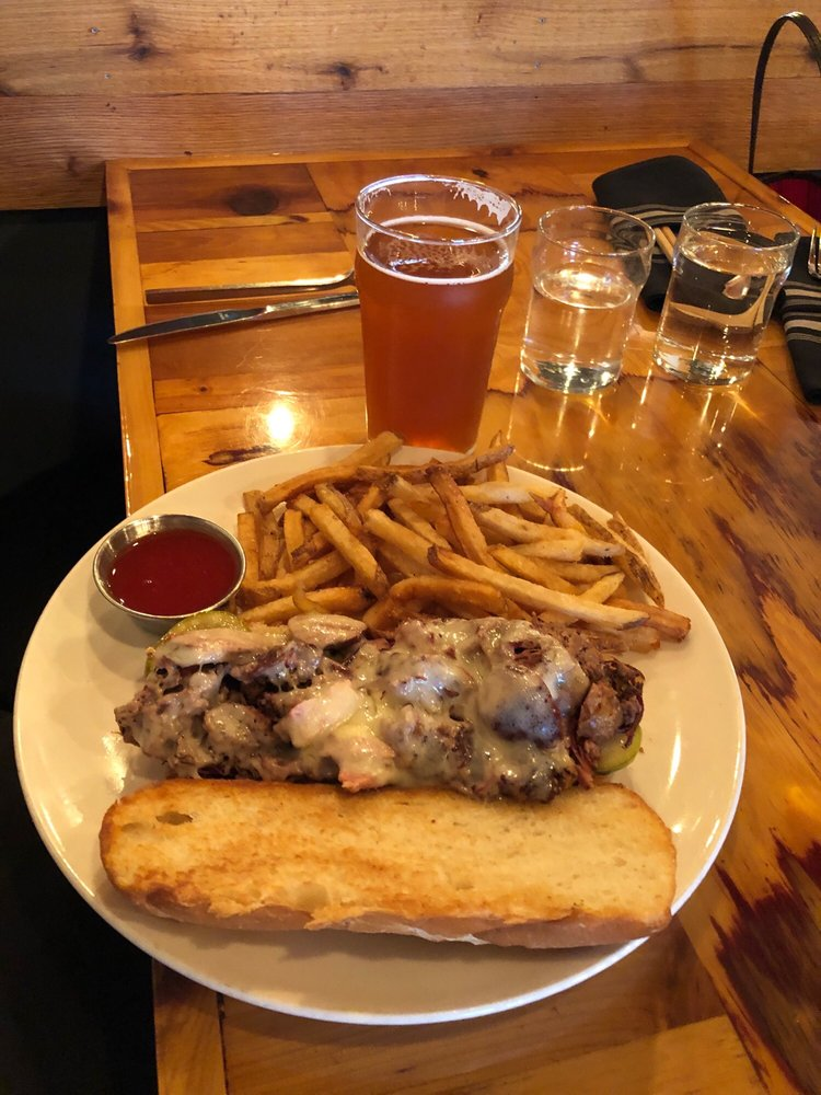 Food from Crooked Ewe Brewery & Ale House