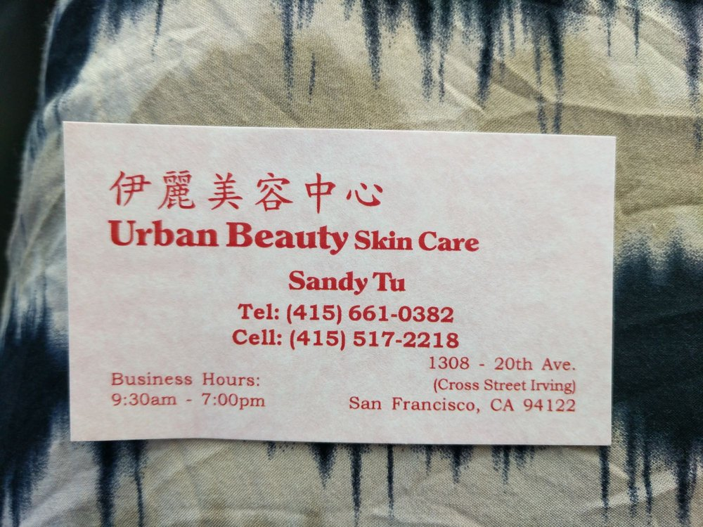 Sandy\'s business card - Yelp