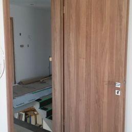 Photo of MID Modern Interior Doors - Richmond BC Canada. Modern Walnut Doors & MID Modern Interior Doors - 32 Photos - Building Supplies ... pezcame.com