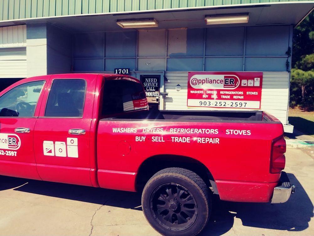 Appliance ER: 1701 S High St, Longview, TX