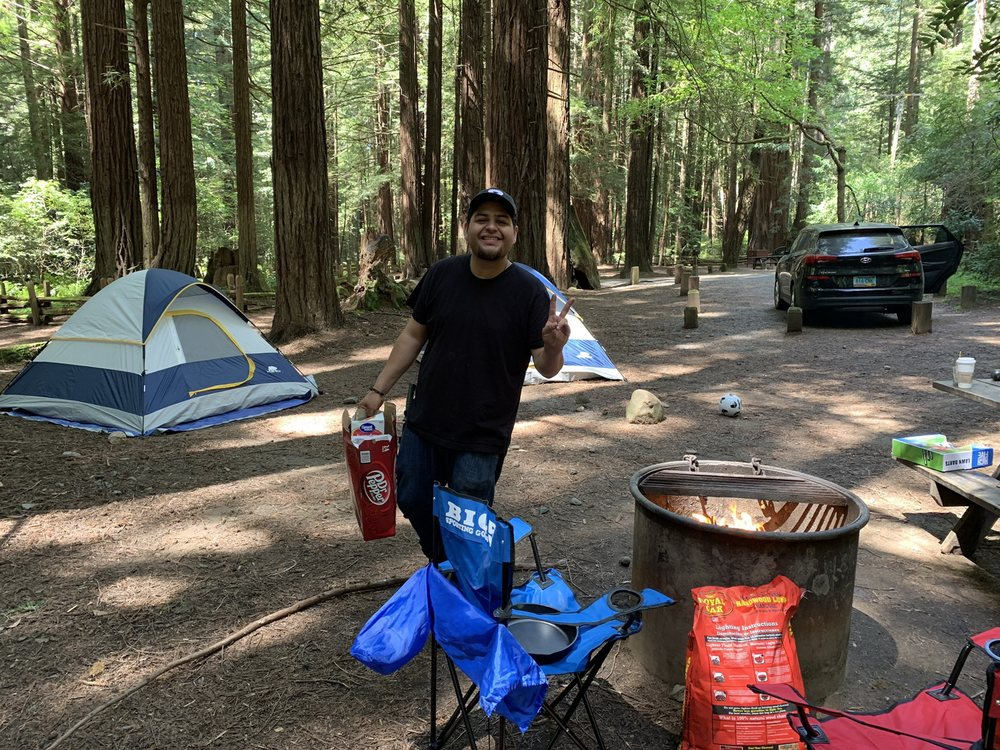 Burlington Campground: 17119  Ave Of The Giants, Weott, CA
