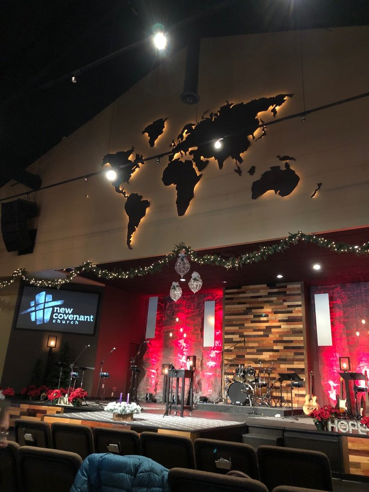 New Covenant Church: 77 Perry Park Ave, Larkspur, CO
