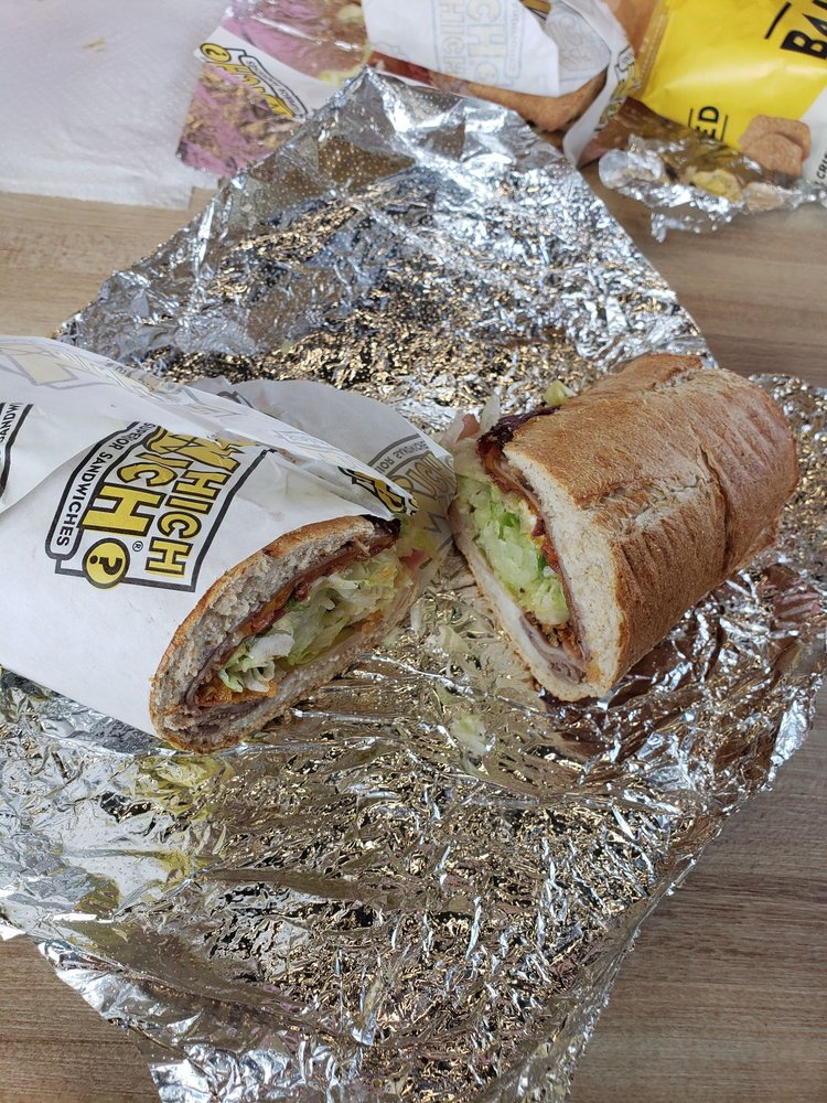 Which Wich: 138 N Old Carriage Rd, Rocky Mount, NC