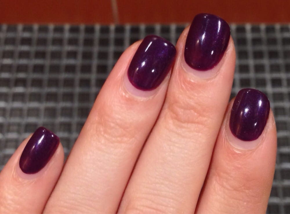Fifteen days after gel mani. Aside from the growing out of my nails ...