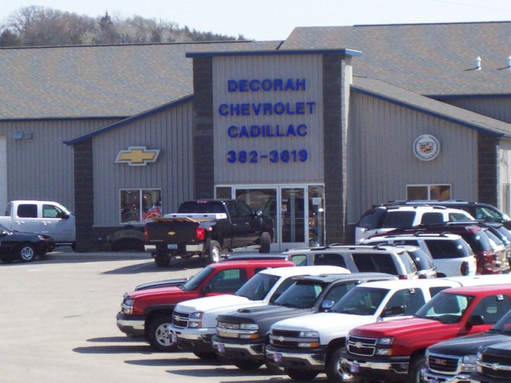 decorah chevrolet cadillac car dealers 1815 state hwy 9 e decorah. Cars Review. Best American Auto & Cars Review