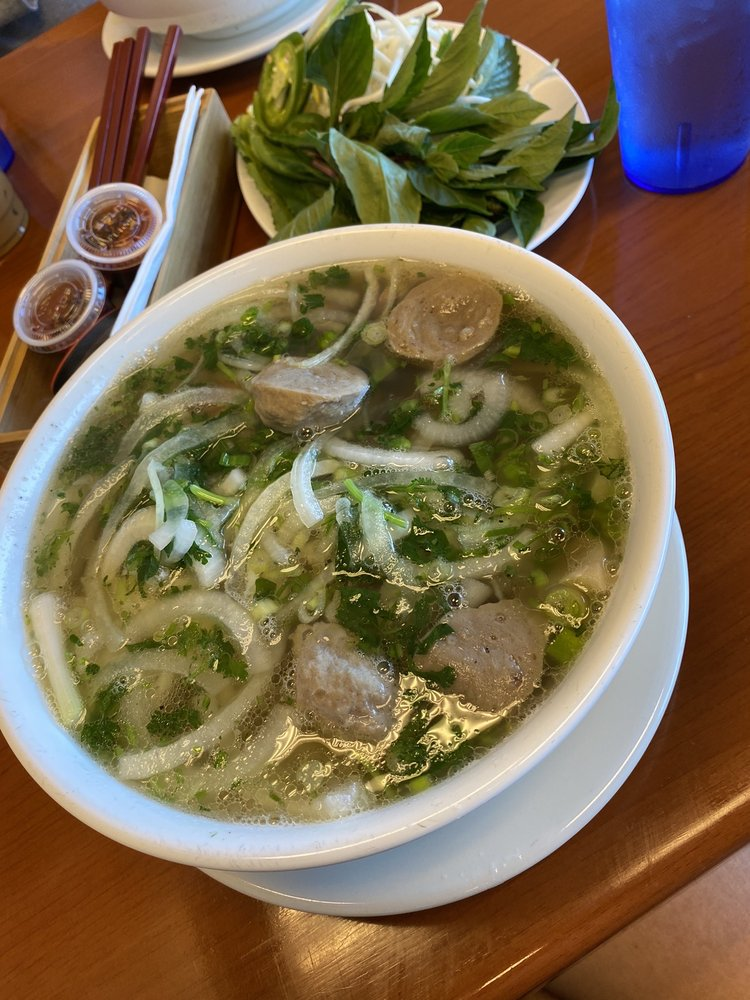 Food from Pho Saigon Xua