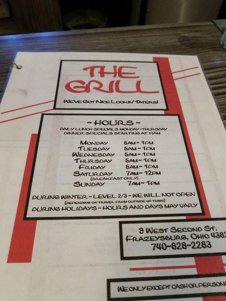 2nd Street Grill: 9 W 2nd St, Frazeysburg, OH
