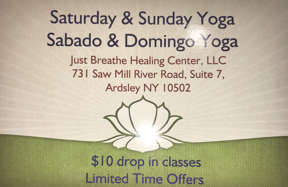 Just Breathe Healing Center: 731 Saw Mill River Rd, Ardsley, NY