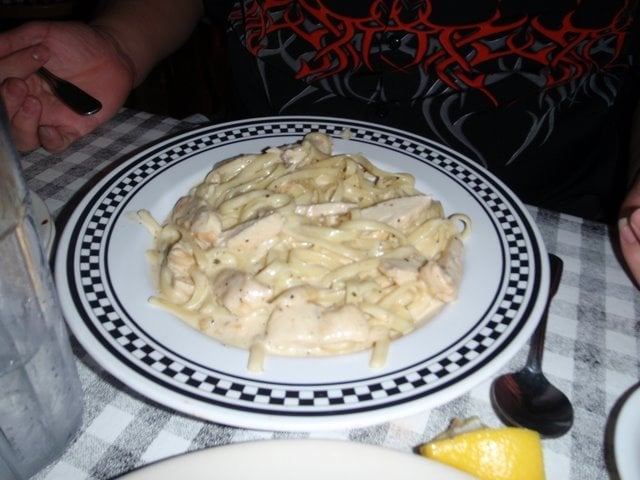 Fettucccine Alfredo With Chicken Yelp